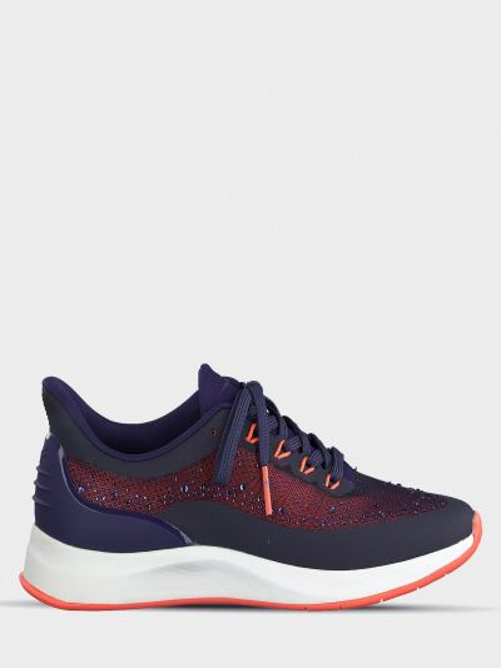 Текстильные брендовые кроссовки Tamaris