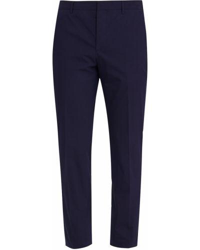 Классические брюки зауженные с карманами Prada