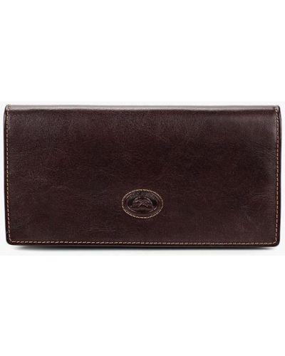 Кожаный кошелек - коричневый Tony Perotti