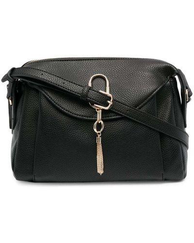 С ремешком черный сумка на плечо Liu Jo
