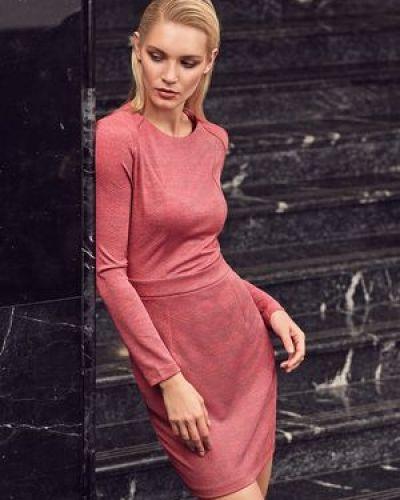 Платье с люрексом Love Republic