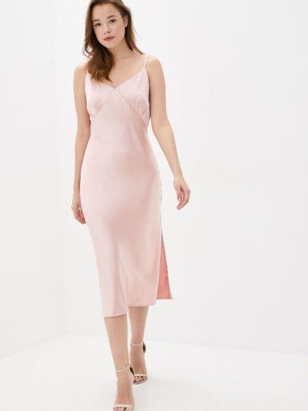 Платье платье-комбинация розовое Imocean