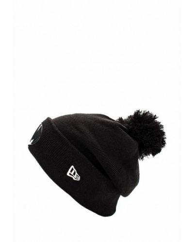 Черная шапка осенняя New Era