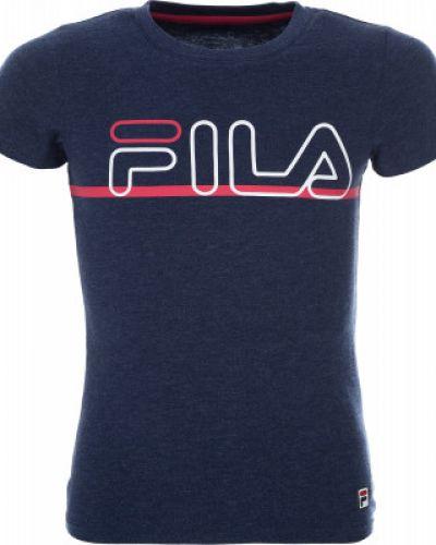 Футболка с логотипом спортивная приталенная Fila