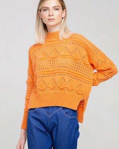 Оранжевый свитер Fors