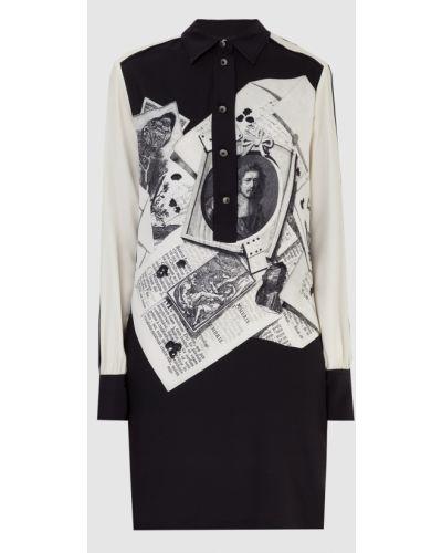 Шелковое платье мини - бежевое Etro