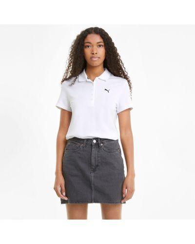 T-shirt bawełniana - biała Puma