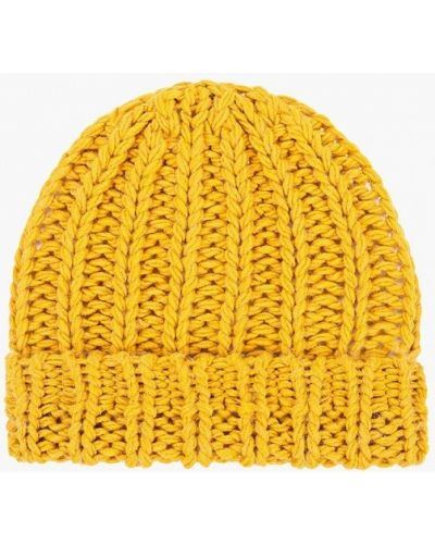 Желтая шапка United Colors Of Benetton