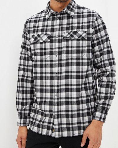 Черная рубашка с длинным рукавом Jack Wolfskin