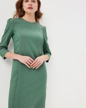 Платье прямое зеленый Gregory