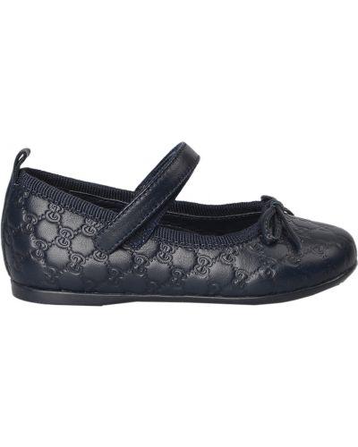 Туфли синие Gucci
