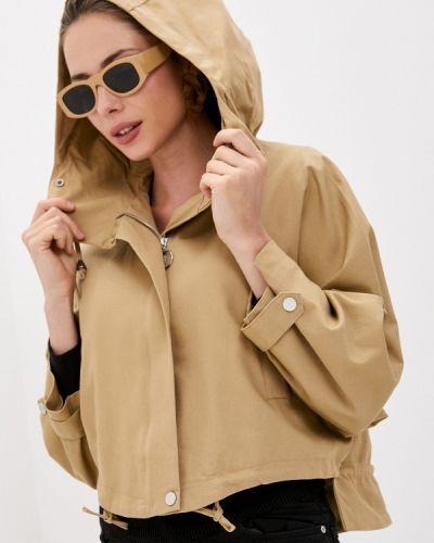 Облегченная бежевая куртка Moki