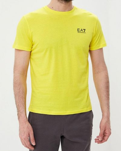 Желтая футболка Ea7