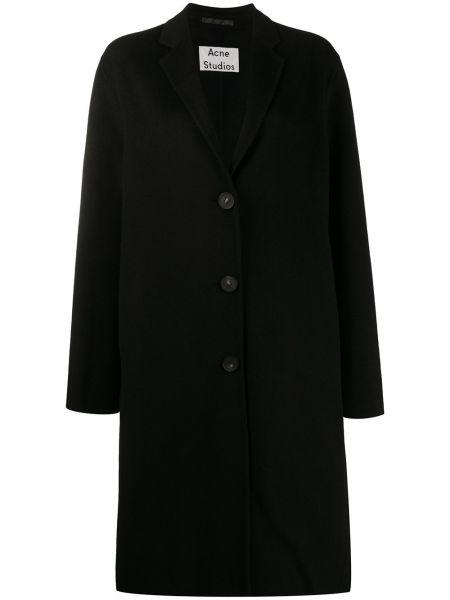 Długi płaszcz wełniany - czarny Acne Studios