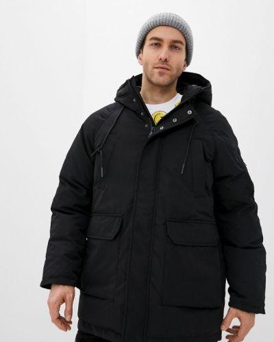 Черная утепленная короткая куртка Befree