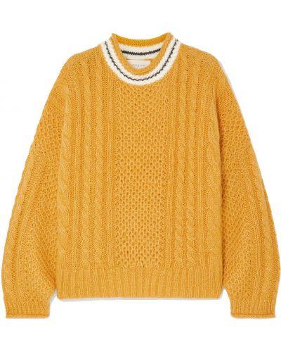 Шерстяной вязаный свитер The Great.