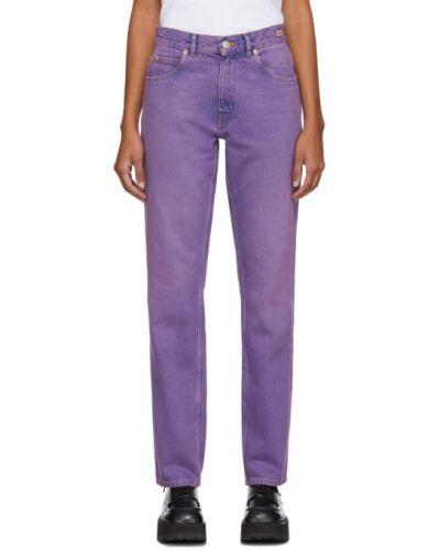 Прямые джинсы фиолетовый mom Martine Rose