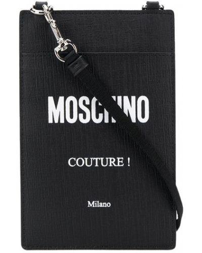 Biały portfel Moschino