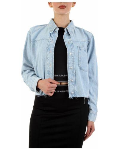 Koszula jeansowa - niebieska Calvin Klein Jeans