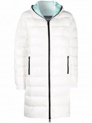 Белое пальто классическое Duvetica