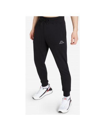 Трикотажные брюки - черные Kappa