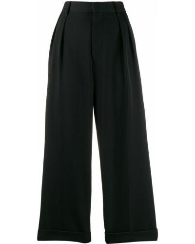 Укороченные брюки расклешенные свободные Marc Jacobs