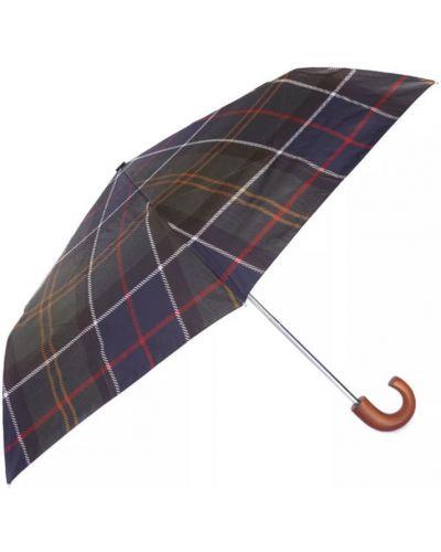 Parasol w paski - szary Barbour