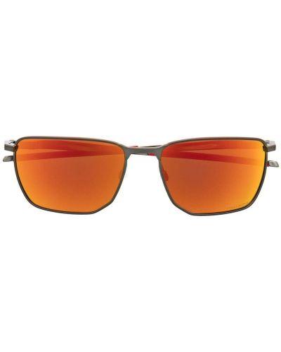 Солнцезащитные очки металлические - оранжевые Oakley