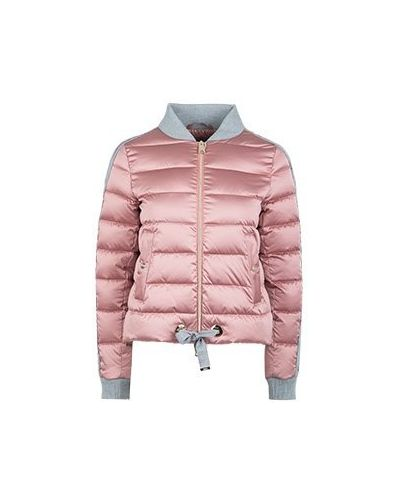 Бомбер розовый Herno