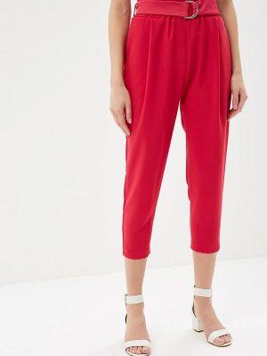 Розовые брюки с завышенной талией Imperial