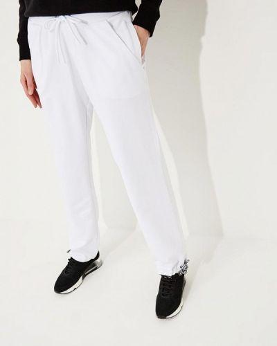 Белые спортивные брюки Bikkembergs