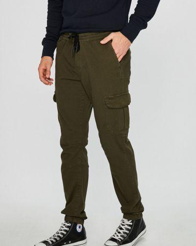 Брюки карго на резинке с карманами Tom Tailor Denim