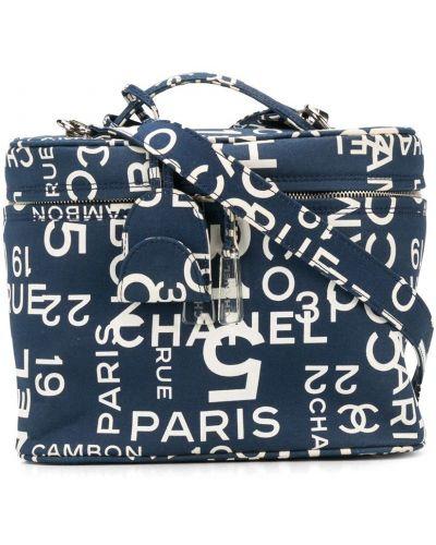 Синяя сумка на плечо Chanel Pre-owned