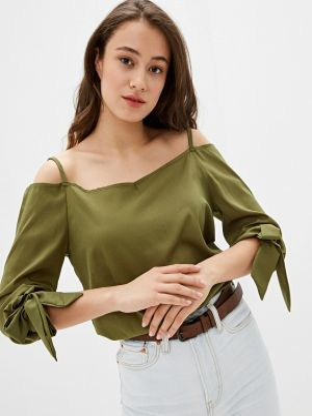 Блузка - зеленая Marissimo