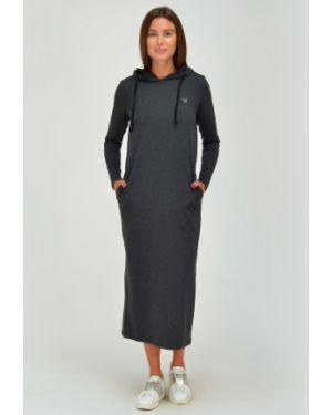 Платье миди с капюшоном платье-сарафан Viserdi