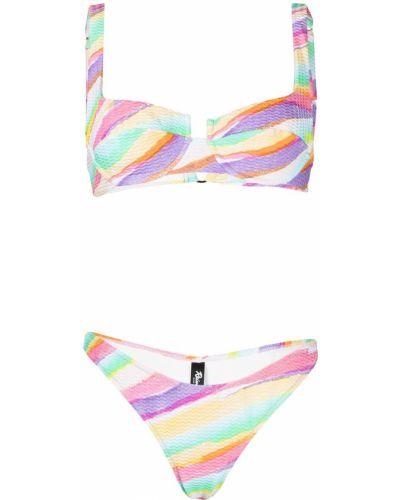 Klasyczny bikini z printem Reina Olga