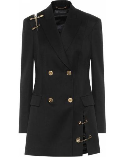 Черный пиджак Versace