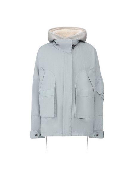 Куртка двусторонняя - синяя Army Yves Salomon