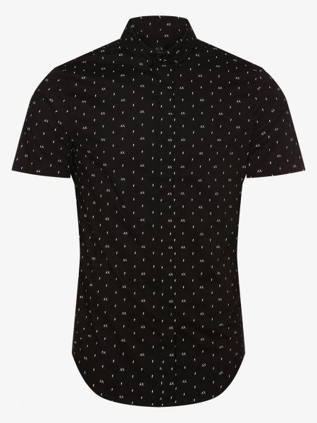 Koszula z wzorem czarna Armani Exchange