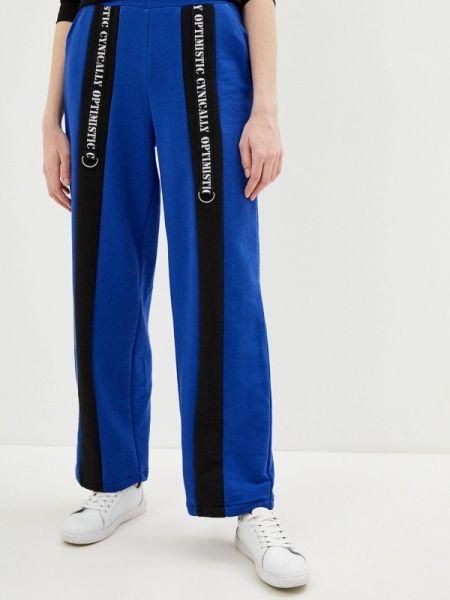 Спортивные брюки синие весенний Lina