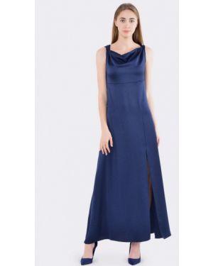 Синее вечернее платье Cat Orange