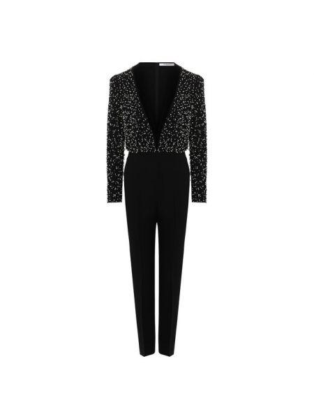 Комбинезон вечерний черный шерстяной Givenchy