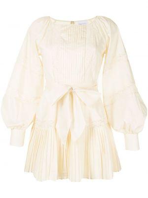 Белое платье классическое Alice Mccall