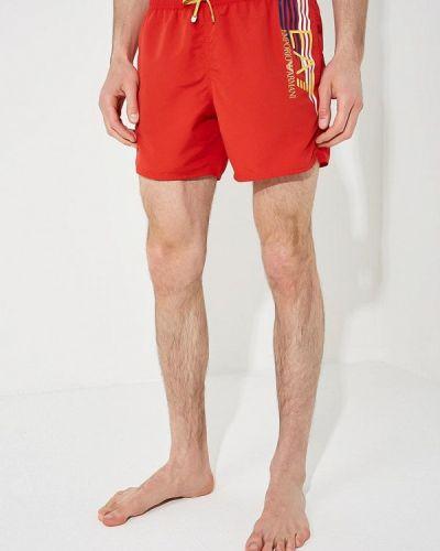 Красные шорты Ea7