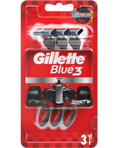 Синий станок для бритья Gillette