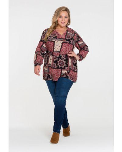 Блузка с принтом Intikoma
