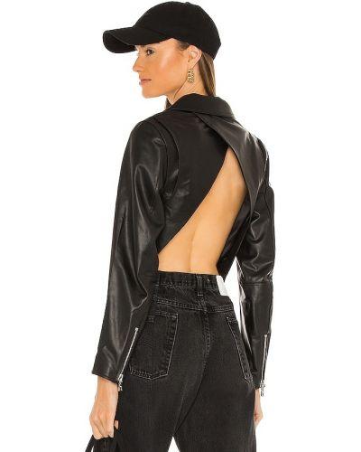 Черная джинсовая джинсовая куртка Rta