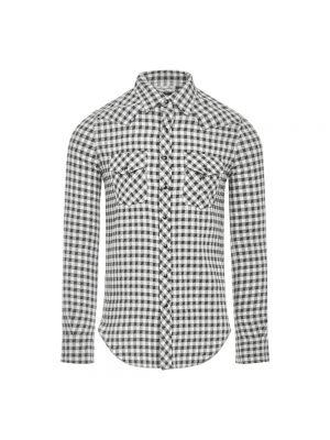 Biała koszula bez rękawów - biała Saint Laurent