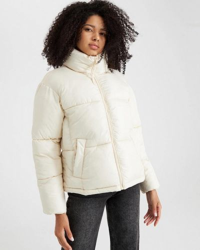 Утепленная куртка - бежевая Terranova
