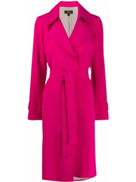 Пальто пальто-тренч с поясом Theory